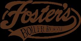 foster's boiler room logo