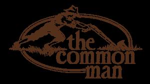 common man restaurants logo brown