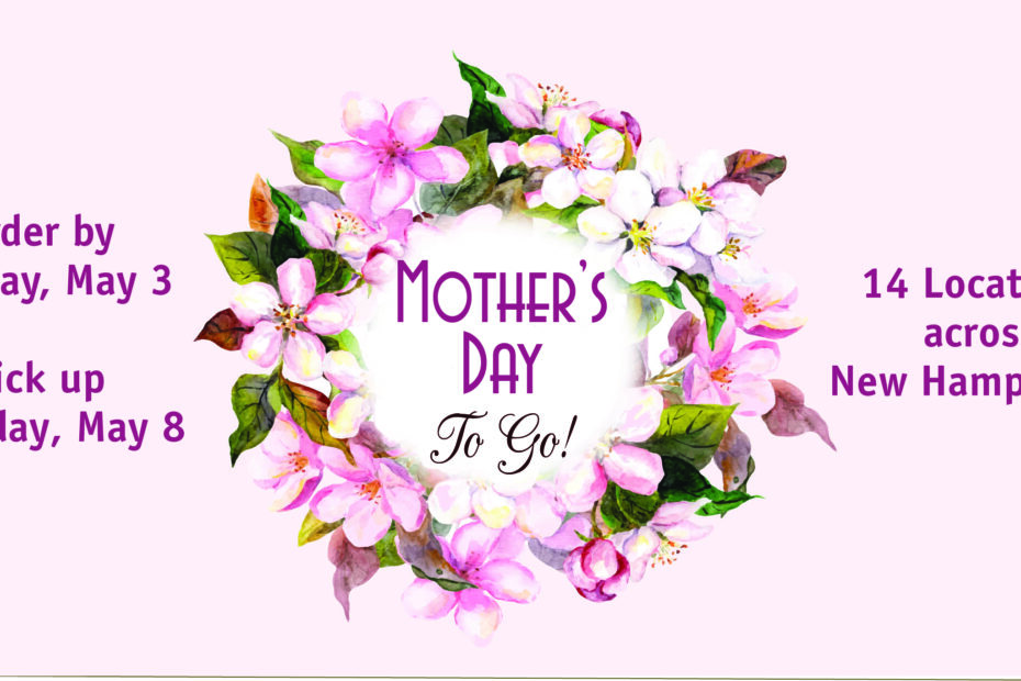 Mother's Day Meal to Go calendar listing