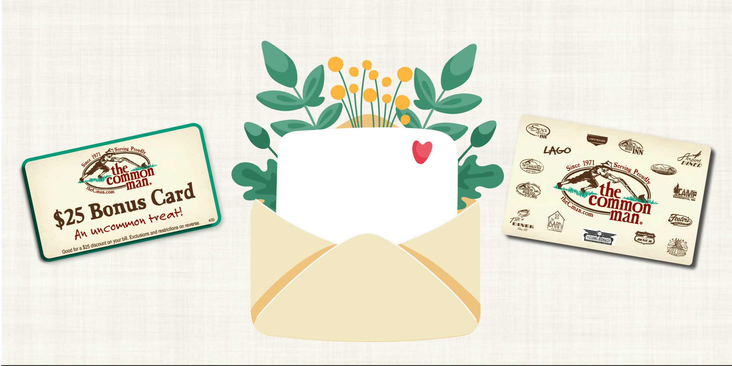Mother's Day Bonus Card Promo