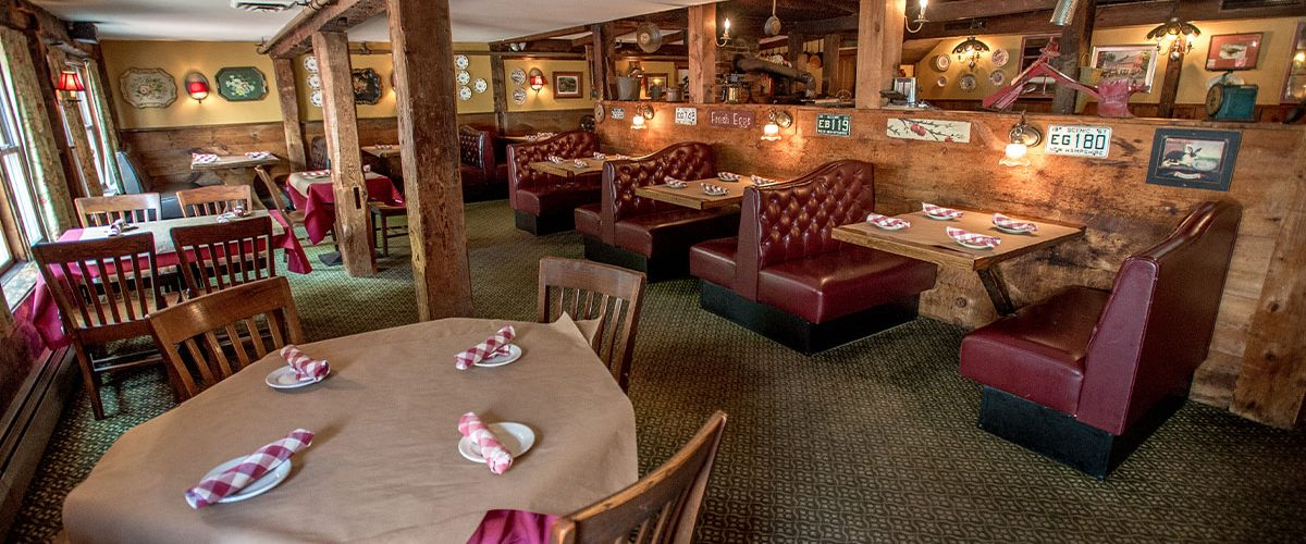 common man ashland dining room of tables and booths