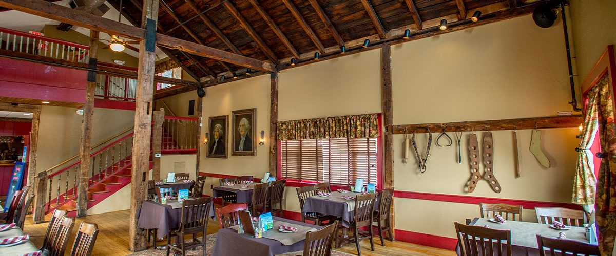 common man merrimack carriage house dining room